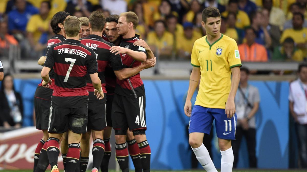 Die DFB-Elf feierte in Belo Horizonte einen ihrer größten Siege überhaupt