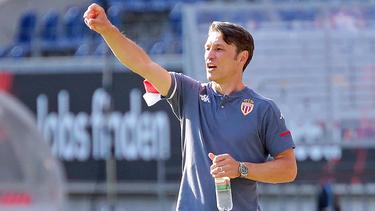 Hat einen Coronavirus-Fall in seinem Profiteam: Niko Kovac, Trainer von AS Monaco