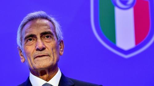 Italiens Fußball-Verbandschef Gabriele Gravina