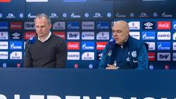 Sind nicht mehr länger beim FC Schalke 04 tätig: Jochen Schneider und Christian Gross