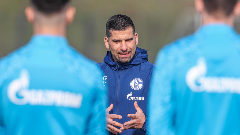 Grammozis steht vor seinem ersten Spiel als Trainer des FC Schalke 04
