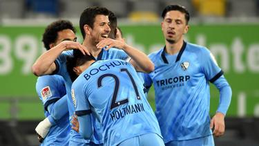 Gerrit Holtmann (vorne) traf zum zwischenzeitlichen 2:0 für den VfL