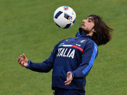 Mattia Perin en un entrenamiento con la selección italiana. (Foto: Getty)