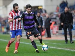 Víctor Pérez (r.) im Spiel gegen Atlético de Madrid