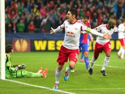 Der Salzburg-Kapitän ist Torschützenkönig der Europa League 2013/14