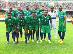 Die Startelf Sierra Leones gegen Kamerun