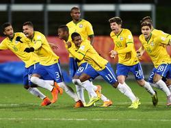 Die brasilianische U20 geht als klarer Favorit in das Finale