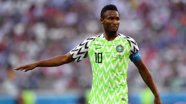 John Obi Mikel hatte vor dem Spiel gegen Argentinien von der Entführung seines Vaters erfahren