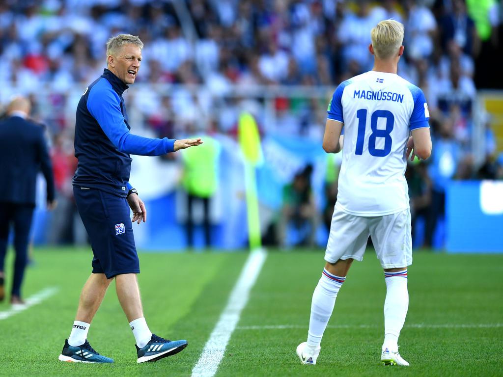 Heimir Hallgrímsson bangt mit Island noch um den Einzug ins Achtelfinale