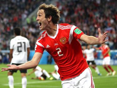 Rusia también se viste con camisetas Adidas en 'su' Mundial. (Foto: Getty)