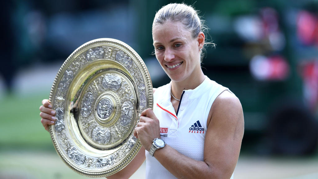 Angelique Kerber feierte den größten Triumph ihrer Karriere