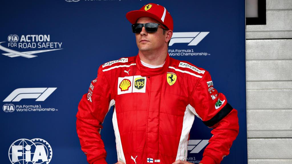 Sehen wir Kimi Räikkönen nie wieder ganz oben auf einem Formel-1-Podium?