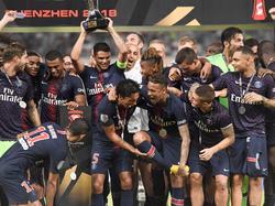 El PSG comienza la temporada con un gran triunfo. (Foto: Getty)
