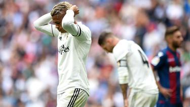 Für Real Madrid läuft aktuell nichts nach Plan