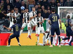 Manchester United kam bei Juventus zu einem Last-Minute-Sieg. © Getty Images/Michael Steele