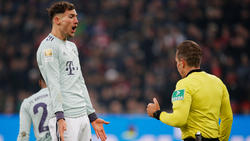 Leon Goretzka (l.) und Co. konnten eine Pleite des FC Bayern gegen Bayer Leverkusen nicht verhindern