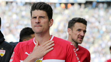 Mario Gomez glaubt an den Klassenerhalt des VfB Stuttgart