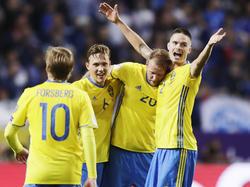 Schweden rang Frankreich nieder