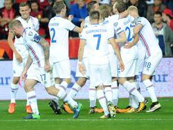 Die Isländer haben es gepackt! Der Sieg gegen Kosovo bringt das WM-Ticket