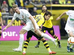 Callsen-Bracker (l.) spielt seit 2011 für Augsburg