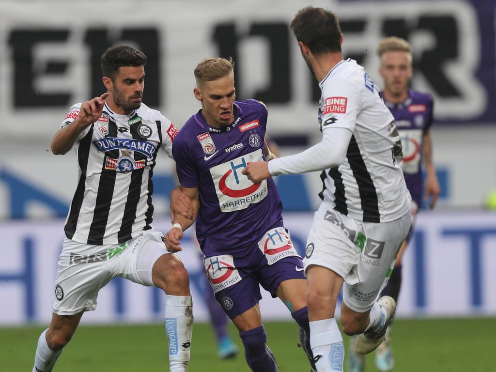 Christoph Monschein sorgte für den entscheidenden Treffer