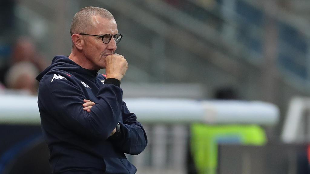 Der FC Genua setzte Aurelio Andreazzoli vor die Tür