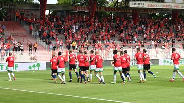 Union lieferte den Fans ein internes Testspiel