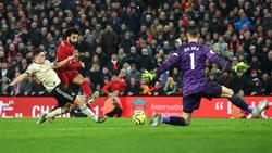 Mohamed Salah (2.v.l.) sorgte für die endgültige Entscheidung