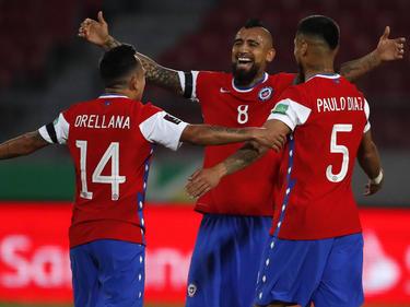 Vidal anotó un doblete magnífico para sumar tres puntos.