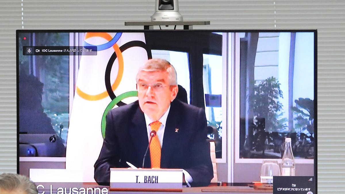 IOC-Präsident Bach wertet den Olympia-Test der Turner als gelungen