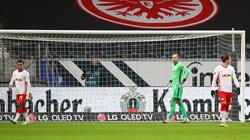 RB Leipzig musste sich mit einem Remis gegen Eintracht Frankfurt zufrieden geben