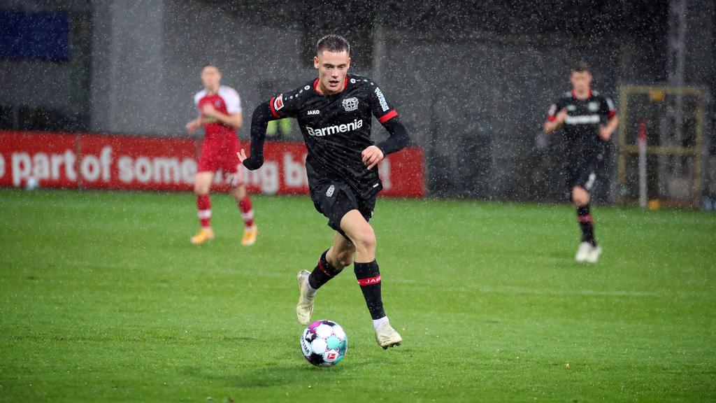 FlorianWirtz spielt seit Januar für Bayer Leverkusen