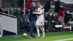 José Mourinho ist mit Gareth Bale nicht zufrieden