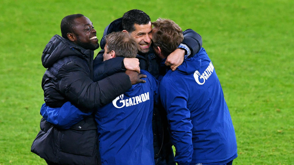 Kollektiver Jubel beim FC Schalke 04