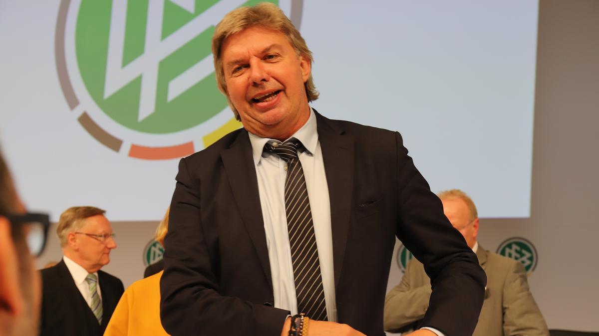 DFB-Vizepräsident Ronny Zimmernann