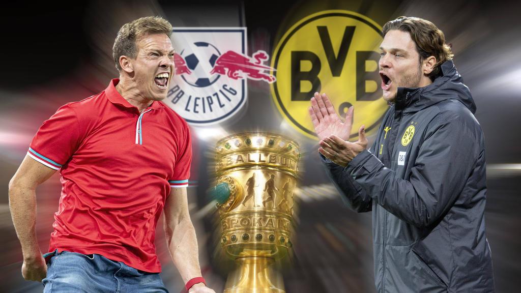 Im Pokalfinale treffen RB Leipzig und der BVB aufeinander
