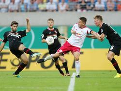 Augsburger Übermacht bei RB Leipzig