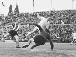 Real Madrid im Freundschaftsspiel gegen die Stuttgarter Kickers 1963