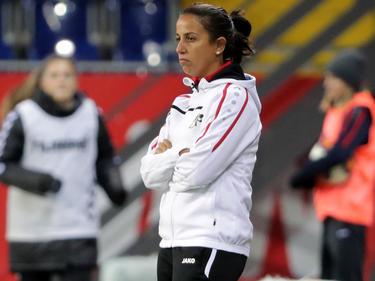 Die sportliche Leiterin der SKN Frauen Liese Brancao bekommt nun nur mehr heimische Kost geboten