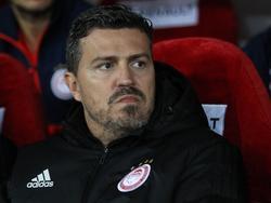 Óscar García wurde Opfer der Fan-Gewalt in Griechenland. © imago/ANE Edition