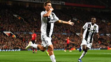 Paulo Dybala schoss das goldene Tor für Juve in Manchester