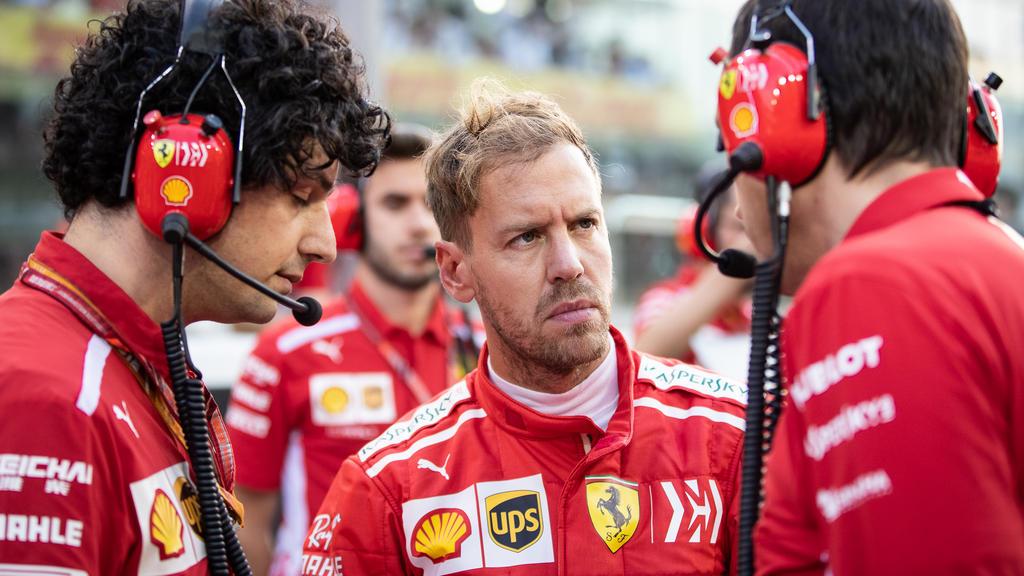 Sebastian Vettel schickt sich erneut an, mit Ferrari den Titel zu holen