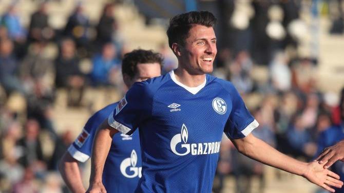 Alessandro Schöpf traf für den FCSchalke 04