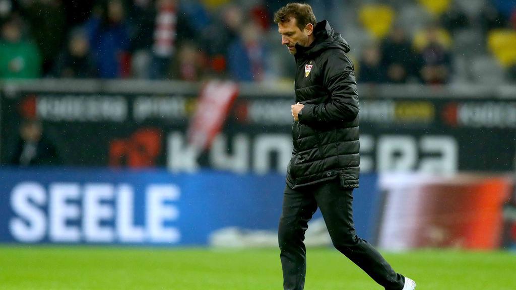 Markus Weinzierl bleibt vorerst Trainer beim VfB Stuttgart