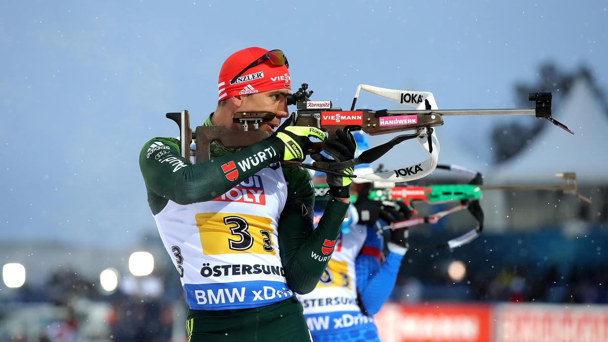 Arnd Peiffer ist Einzel-Weltmeister von Östersund