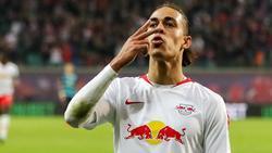 Überragender RB-Mann beim Sieg über Hertha BSC: Yussuf Poulsen