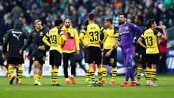 Der BVB gab eine 2:0-Führung aus der Hand