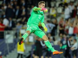 Julian Pollersbeck startete bei der U21-EM richtig durch