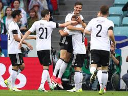 Alemania debuta con victoria. (Foto: Getty)