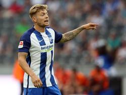 Alexander Esswein könnte der Hertha zum Rückrundenauftakt fehlen